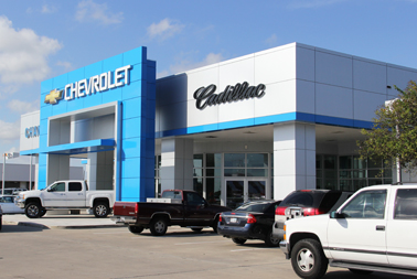 champion chevrolet cadillac exterior facade. Cars Review. Best American Auto & Cars Review
