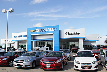 champion chevrolet cadillac exterior. Cars Review. Best American Auto & Cars Review